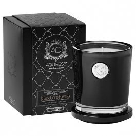 Aquiesse Large Soy Candle- Black Coco (Havana Sweets)