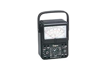 Simpson 260-8P 12391 Relay Protected Black Analog Multimeter