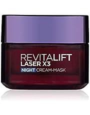 L'Oreal Paris Revitalift Laser New Skin Anti-Aging Night Cream-Mask, 50 ml