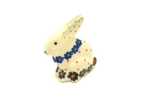 Polish Pottery Rabbit Figurine - Small - Primrose for sale  Delivered anywhere in USA