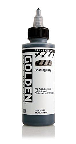 4oz. High Flow Acrylic Paint Color: Transparent Shading Gray