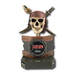 Disney Pirates of the Caribbean Alarm Clock Radio Toys Christmas Gift