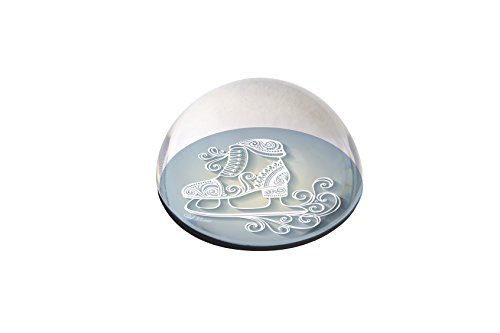 "Forever Crystal ""Ornate Ice Skate Crystal Magnet from Forever Crystal"