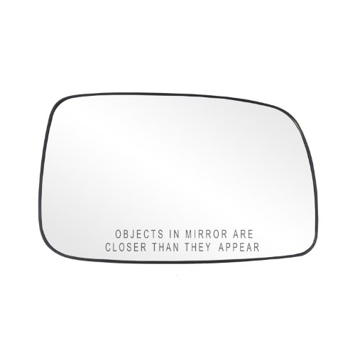 Fit System 80205 Toyota Camry Sedan Right Side Power Replacement Mirror Glass with Backing - Camry Mirror Toyota Right