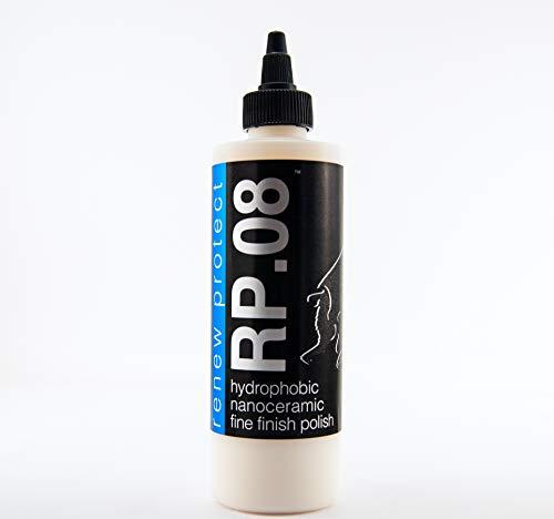 RP.08 :: Fine Finish Polish & Glaze - Infused w/ 30% Titanium, Quartz, Zinc, and Diamond Nano-Ceramics, 8oz + Free GLOZ Sample