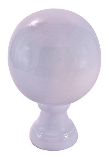 Dalvento Small Londoner Finial- White Gloss by Dalvento (Image #1)