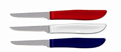 Compra Ginsu EE. UU. Serie 3 Piezas Rojo, Blanco, y Azul ...