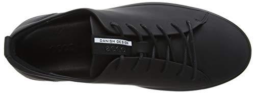 11001 Soft ECCO Black para Hombre Negro Zapatillas 8 0wd1xq6w