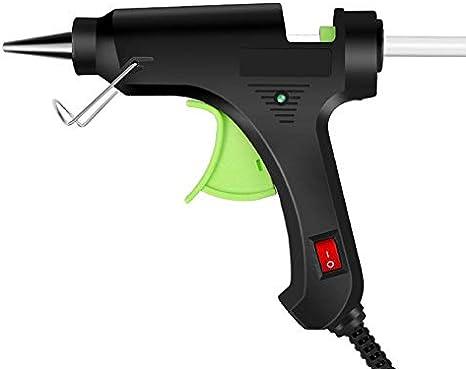 5 St/ück 7 Mm 19 Cm NUOBESTY Hei/ßklebepistole 20W Mini-Klebepistole mit Sticks USB-Stecker Hochtemperatur-Schmelzklebepistolen-Kit f/ür DIY Arts /& Crafts-Versiegelung