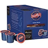 Timothy's Italian Blend Coffee for Keurig Brewing Systems - 108 K-Cups