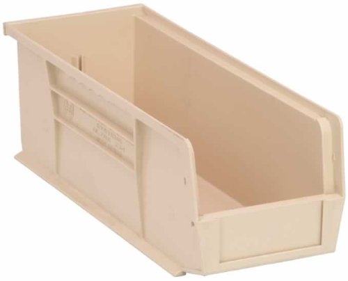 Quantum QUS234IV Ivory Ultra Stack and Hang Bin, 14-3/4