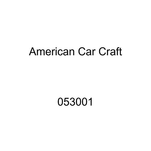 American Car Craft 053001 Polished/Brushed Plenum Cover Kit, 9 Pack