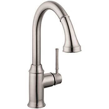 HG Talis C Higharc Single Hole Kitchen Faucet W/Pull Down 2 Spray