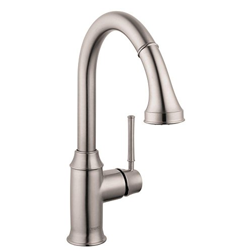 Hansgrohe 04215801 Talis C HighArc Kitchen Faucet, Steel ...