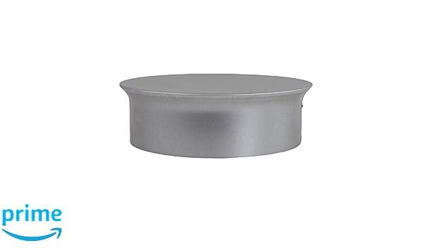 Kamino - Flam - Tapa para tubo de chimeneas, estufas y hornos de leña, Tapa para chimenea - acero con revestimiento de aluminio - Ø 150 mm - resistente a ...