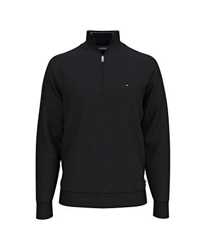 Tommy Hilfiger Men's 1/4 Zip Mockneck Sweatshirt