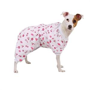 Zack & Zoey Sweet Dreams Pjs Med White/Candy (Dog Sweet Pjs Dreams)