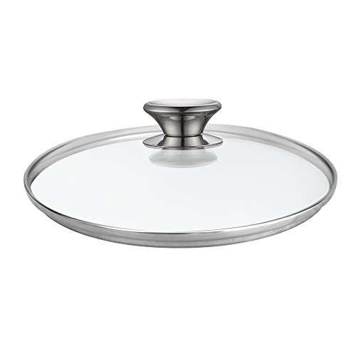 Cook N Home 02574 Tempered Glass Lid, 12-inch/30cm, - 12 Lid Farberware