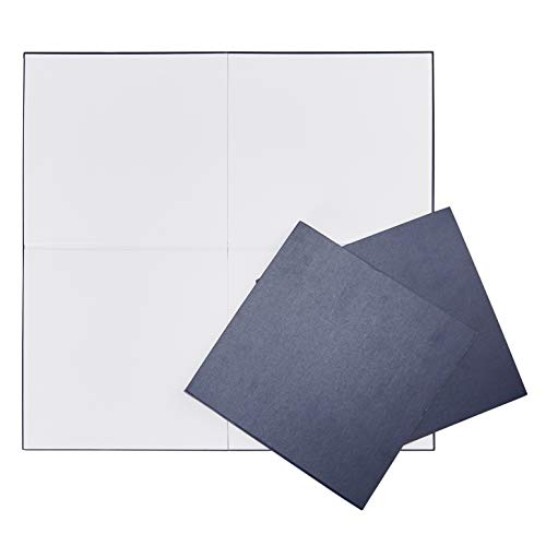 Juvale Blank Game Board - 3-Pack Gameboard, DIY Board Game, Folding Board Game, Blank Playing Board for DIY Craft, Home School Classroom Project, Game Night, Party Game, Blue, 18 x -