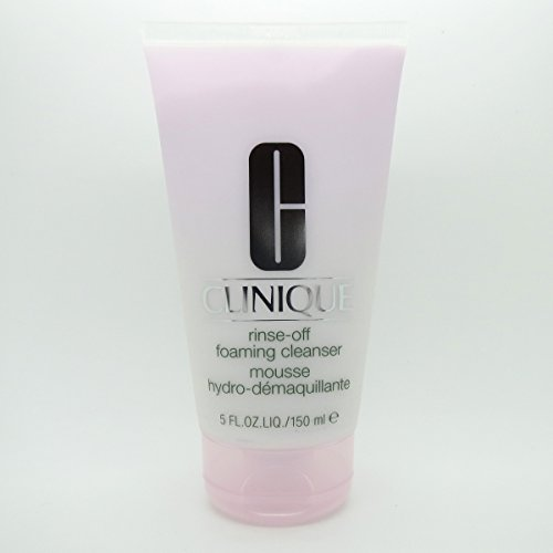 Rinse Off Foaming Cleanser by Clinique for Unisex - 5 oz Cleanser