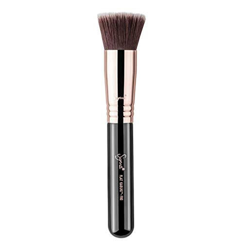 Sigma Beauty Flat Kabuki Makeup Brush F80 - Flat Top Head, Soft & Dense Fibers