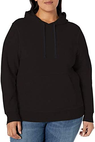Amazon Essentials Women's Plus Size French Terry Fleece Pullover Hoodie