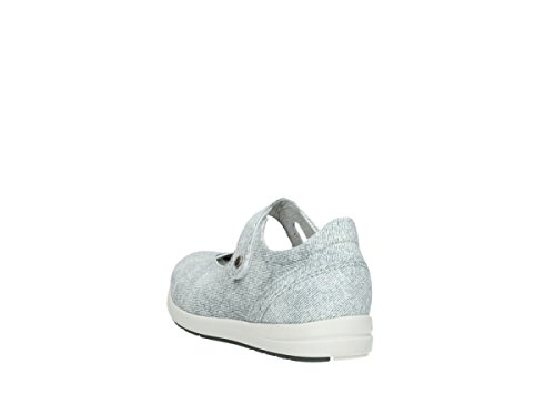 Wolky Comfort 49122 grey Janes Electric Offwhite Mary g7Rrqg