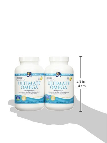 Nordic Natural Ultimate Omega 360 count - (2 pack of 180 per bottle) by Nordic Naturals (Image #7)