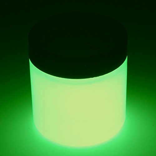 [Art 'N Glow Artist's Acrylic Glow In The Dark Paint with Charging Light, 4 Fluid Ounces, Neutral] (Quick Costume Ideas For Work)