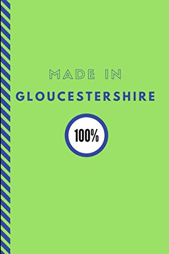 Made In Gloucestershire 100%: Customised Note Book Journal