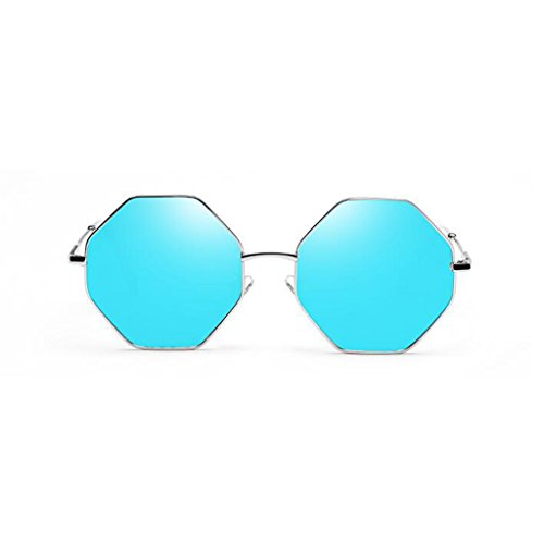 HOME Decorativa Fashion Espejo Sol QZ Travel Movimiento de Anti Gafas de 4 Personalidad Ultralight Vintage UV400 Color Light Street Reflective 4 Beach Beat Polarized fwqqUd