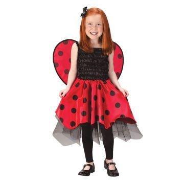 Lady Bug Costume (Girl - Child 4-6)