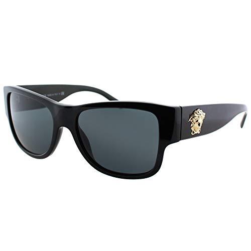 Versace sunglasses VE4275 GB1/87 Acetate Black - Gold Black (Versace Sonnenbrillen Billig)