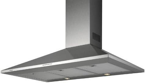 CATA elegante acero inoxidable Campana 60 cm/Campana/muy saugstaker Motor 1200 m³/h/pared cubierta 60 cm/Campana/Campana extractora/3 niveles Control/temporizador: Amazon.es: Grandes electrodomésticos