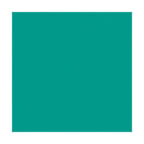 Teal Solid Bandana - Single Piece 22x22