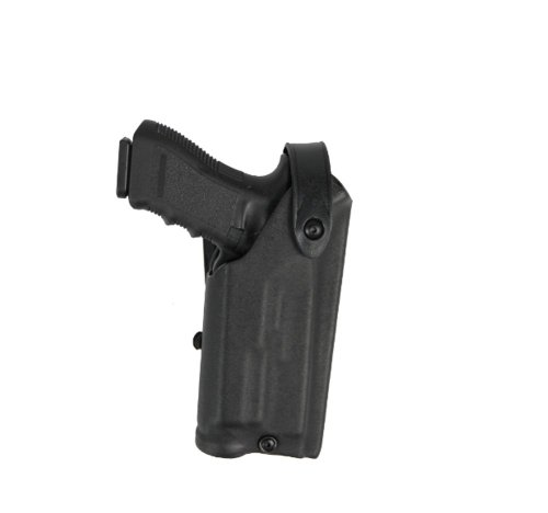 Safariland 6280 Level II SLS Retention Duty Holster, Mid-Ride, Black, STX Tactical, Glock 17, 22 with M3 Light (Right - Light Gun M3