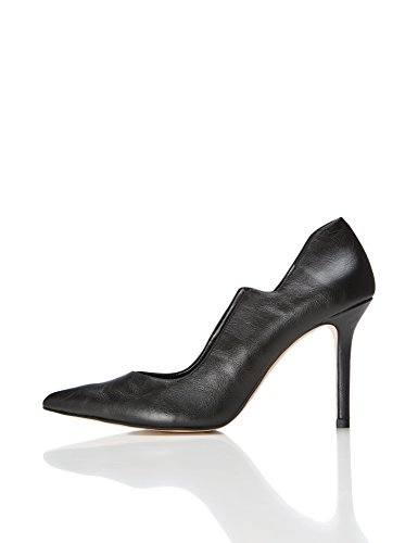 FIND Cecile, Women's Closed-Toe Pumps, Black, 5 UK (38 EU)