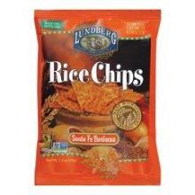 - Lundberg Organic Santa Fe Barbecue Rice Chips, 1.5 Ounce -- 24 per case.