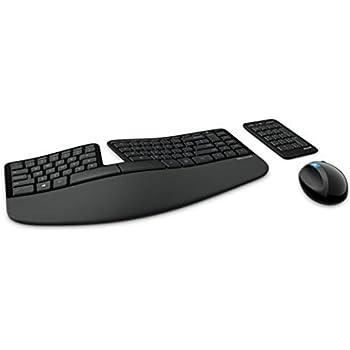 Microsoft Sculpt Ergonomic Desktop USB Port Keyboard and Mouse Combo (L5V-00002)