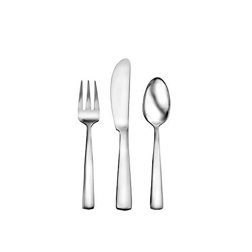 Oneida Chef's Table Dinnerware and Flatware Entertaining Sets (24-Pc Appetizer FW),Silver,24-Pc Appetizer - Chef Spreader