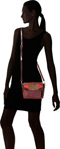 Antik Batik - Isha Small Bag, Bolsos bandolera Mujer, Multicolore (Multico), 10x16x22 cm (W x H L)