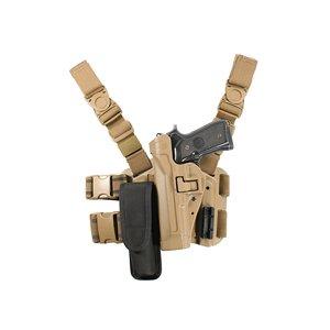 Blackhawk Coyote Tan SERPA Level 2 Tactical Holster 430504CT-L - Level 2 Tactical Serpa Holster