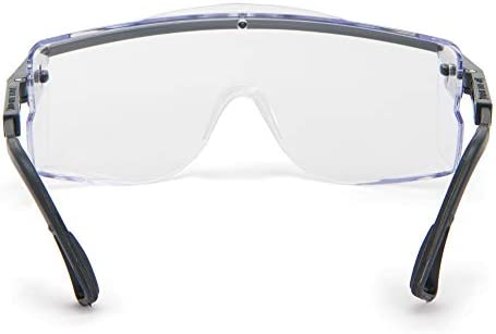 Honeywell Astro Series Anti-Fog OTG Over-the-Glass Safety Glasses RWS-51015 Clear Lens