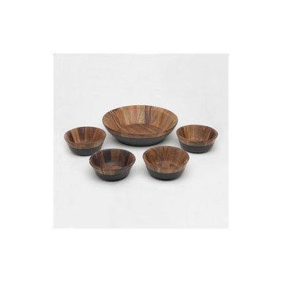 - Noritake Kona Wood 5-Piece Salad Set by Noritake