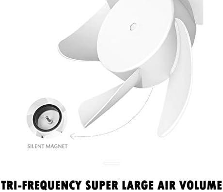 CAOQAO Mini 800 mAh portátil silencioso Ventilador de Bolsillo USB ...