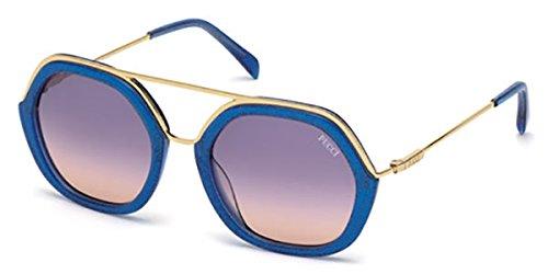 Sunglasses Emilio Pucci EP 14 EP0014 92W blue/other / gradient - Pucci Sunglasses