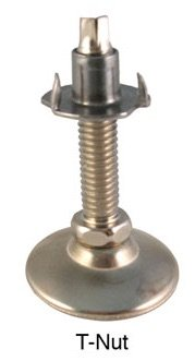 T-Nut Leg Leveler (Set of 4) ()