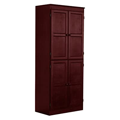 Concepts in Wood Cherry KT613B Storage/Utility Closet