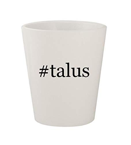 (#talus - Ceramic White Hashtag 1.5oz Shot Glass)