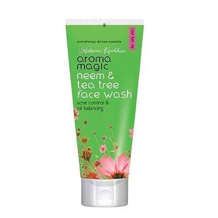 Aroma Magic Neem   Tea Tree Face Wash, Green, 200 ml